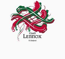 Clan Lennox -Prefer your gift on Black/White tell us at info@tangledtartan.com   Unisex T-Shirt