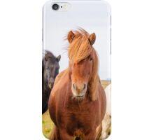 Icelandic horses iPhone Case/Skin