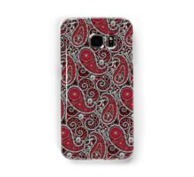 Pushie Paisley Pattern Chrome Samsung Galaxy Case/Skin
