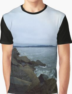 Cloudy Ocean Graphic T-Shirt