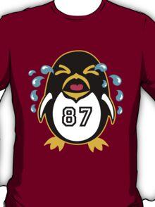 "Crosby Penguin  ""war""Cry T-Shirt"