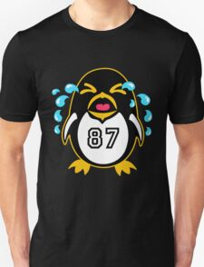 "Crosby Penguin  ""war""Cry T-Shirt"