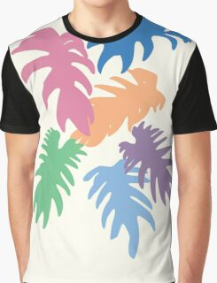 Colourful Matisse Leaves Graphic T-Shirt