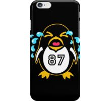 "Crosby Penguin  ""war""Cry iPhone Case/Skin"