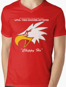 VFA-195 DAMBUSTERS UNITED STATES NAVY STRIKE FIGHTER SQUADRON T-SHIRTS Mens V-Neck T-Shirt