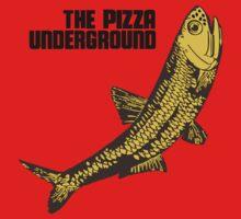 Pizza Underground Fish One Piece - Long Sleeve