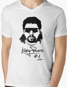 Kenny Powers Nr.1 Mens V-Neck T-Shirt