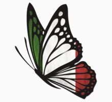 Italian Flag Butterfly by johnlincoln2557