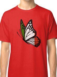 Italian Flag Butterfly Classic T-Shirt