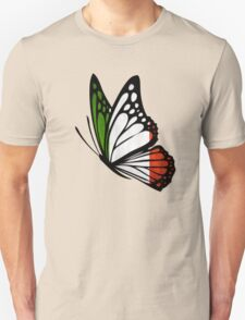 Italian Flag Butterfly T-Shirt