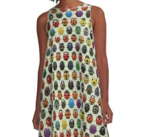 Beetle Mania A-Line Dress