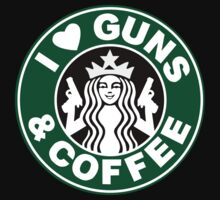 I Heart Guns & Coffee by Captainquarters