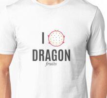 I Heart Dragon Fruits Unisex T-Shirt