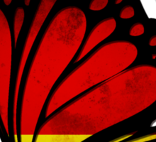 Germany Flag Butterfly Sticker