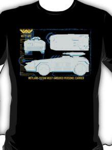 WEYLAND-YUTANI M557 AMOURED PERSONEL CARRIER T-Shirt