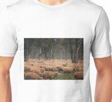 Droving Sheep at Albert  © Vicki Ferrari Unisex T-Shirt