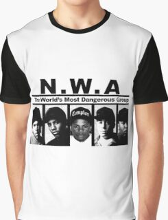 N W A The World's most dangerous Group Graphic T-Shirt
