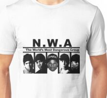 N W A The World's most dangerous Group Unisex T-Shirt