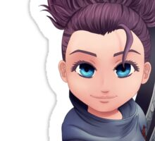 Face the wind - Female Yasuo Sticker