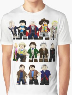 Doctor Who - Toy Doctors Graphic T-Shirt
