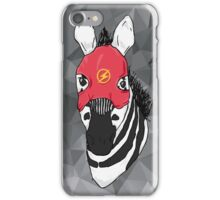 Flash zebra iPhone Case/Skin