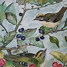 GOLD CRESTS by Marilyn Grimble
