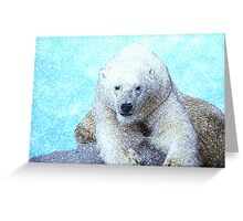 Frosty the Snow Bear Greeting Card