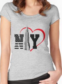 i love new york Women's Fitted Scoop T-Shirt