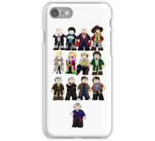 Doctor Who - Toy Doctors iPhone Case/Skin