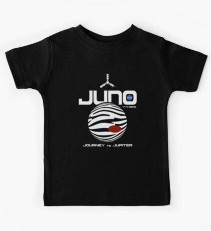 JUNO -- Journey to Jupiter Kids Tee