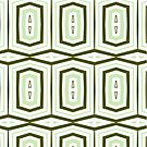 Weave It Green With Shapes by Joy Watson