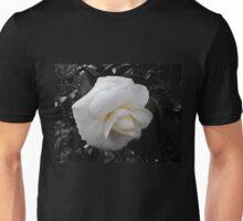 Winter White Camellia Unisex T-Shirt