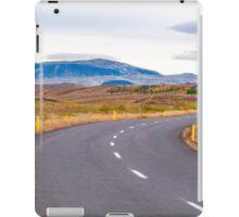 Icelandic landscape iPad Case/Skin
