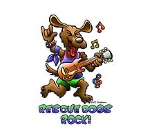 RESCUE DOGS ROCK! by ANIMAL WELFARE  CARTOONS NRT