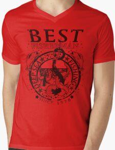 Best Fisherman Mens V-Neck T-Shirt