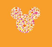 Mouse Spotty Patterned Silhouette Unisex T-Shirt