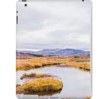 Thingvellir national park, Iceland iPad Case/Skin