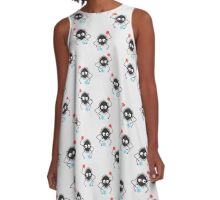8-bit Soot Sprites/spirte and Candy! (Spirited Away/My Neighbor Totoro) A-Line Dress