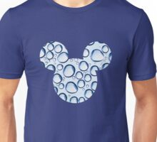 Mouse Water Bubble Patterned Silhouette Unisex T-Shirt