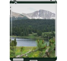 Lake in the Mountains iPad Case/Skin