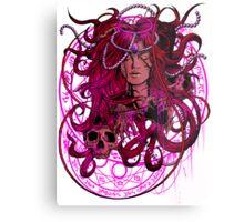 Heartless Pinku Metal Print