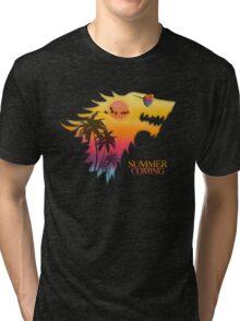 Summer is Coming Tri-blend T-Shirt