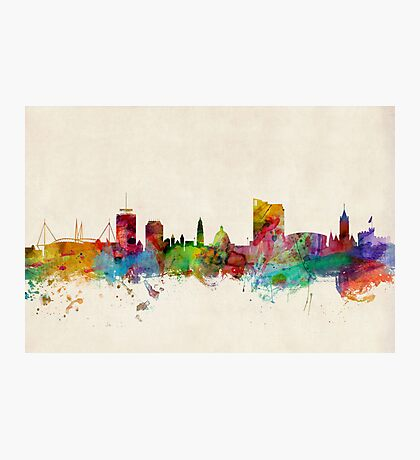 Cardiff Wales Skyline Photographic Print