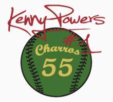 """""""Charros 55 Baseball"""" Kenny Powers #1 by tragbar"""