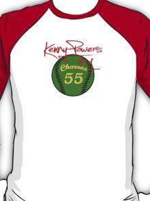 """Charros 55 Baseball"" Kenny Powers #1 T-Shirt"