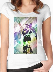 Defenders of the universe Women's Fitted Scoop T-Shirt