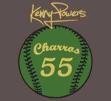 """""""Charros 55 Baseball"""" Kenny Powers  by tragbar"""