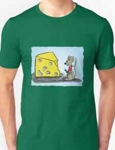 Maus Mahlzeit Unisex T-Shirt