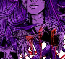 Heartless Purplered Sticker