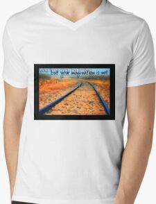 Imagination © Vicki Ferrari Mens V-Neck T-Shirt